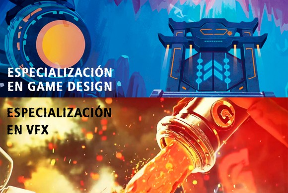 Últimas plazas en Game Design y VFX