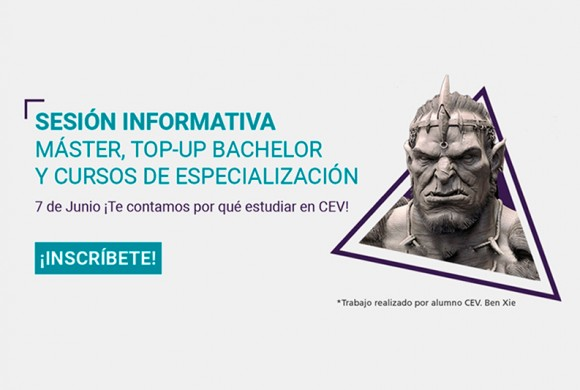 Sesión Informativa de Top-Up Bachelor Degree, Master y Cursos de Especialización